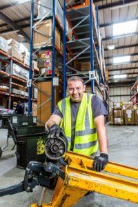 Repair pallet trucks